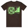 brown and green t