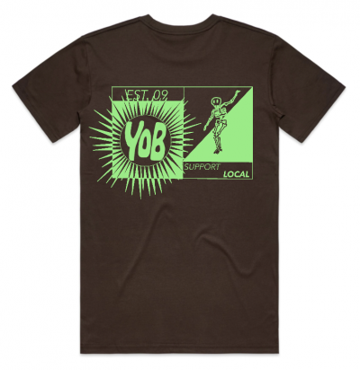 YOB Larry the local t-shirt graphic